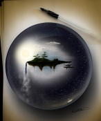 Floating island in the galaxy_Christian Elder