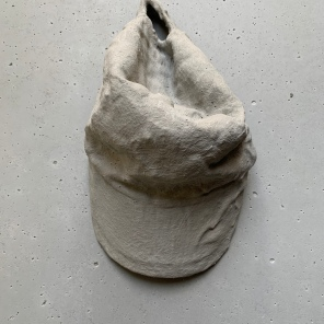 he was my father concrete sculpture 18 cm x 30 cm